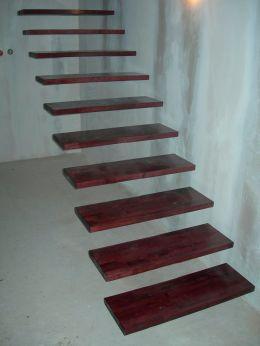 Стълби за мезонет без видима конструкция - Изображение 2
