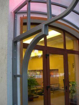 Козирки от метал и поликарбонат - Изображение 3