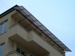 Козирки от метал и поликарбонат - Изображение 6